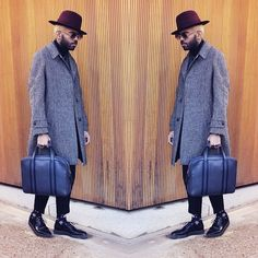 Latest Post!  The London Business Briefcase by @zinodavidoff  Photos by…