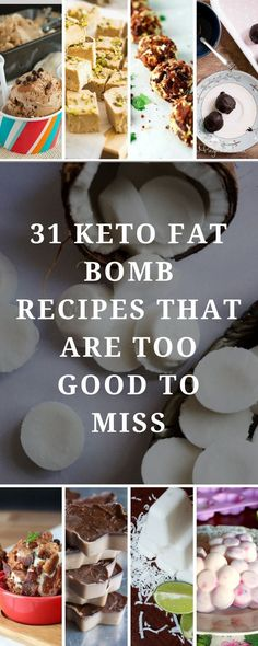 A powerful list of 31 keto fat bombs from food bloggers, including sweet and savory options. Each recipe is an amazing source of healthy fats and tastes great (even if you're not on a keto diet). #keto #fat #snacks