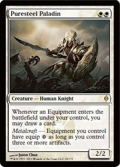 Magic: the Gathering - Puresteel Paladin - New Phyrexia by Wizards of the Coast…