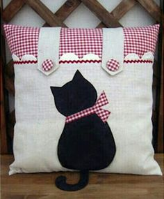 Cute Kitty Pillow