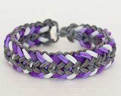 Items similar to Mini Snake Belly - Rainbow Loom Mini Snake Belly ...