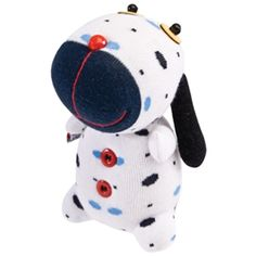 spotted sock dog #animals #cute #toys