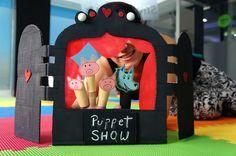 DIY: Teatrín de marionetas de dedos para estimular el habla de los pequeños.