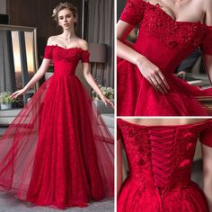 Prom Dresses Slay, High Low Prom Dresses, Red Wedding Dresses, Gala Dresses, Ball Gown Dresses, Evening Dresses, Royal Dresses, Quince Dresses, Pretty Dresses