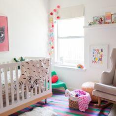 Project Nursery - Colorful Bohemian-Modern Nursery