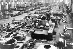 German Tank factory in 1940