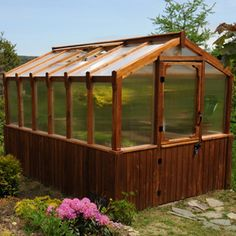 8 x 12 Cedar Greenhouse
