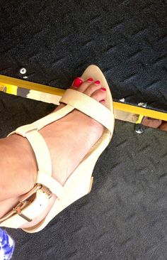 Oops sry! @Forever 21 wedge, goes w everything $30 RT @NASCARfanamamda: shoe pic? I look forward to them every week