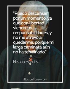 Las diez mejores frases de Nelson Mandela #NELSON MANDELA#FRASES#LUTO#FRASE#QUOTE#QUOTES#LÍDER#HEROE#HISTORIA