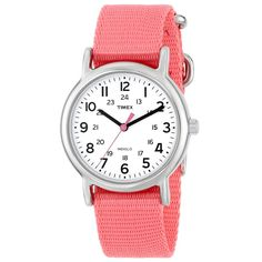 Timex Women's Weekender Silver Analog Watch T2P368 Our Price:$29.95 ewatchesusa.com
