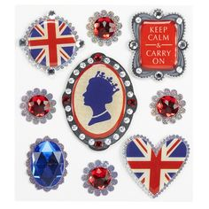 Jolee's Boutique Royal Cameo Stickers. I am obsessed with these stickers. #stickers
