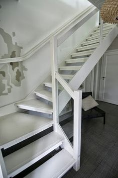 TALO AHVENJÄRVI: syyskuuta 2013 Stair Decor, Floating Stairs, Under Stairs, Stairways, Mudroom, Entryway, House, Home Decor, Future