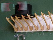 DIY Coat Hanger Coat Rack / Das rote Paket
