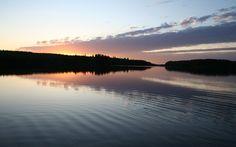 Midsummer evening in Finland