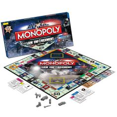 It's a hot pursuit to win on the special Law Enforcement Edition of MONOPOLY, honoring the men and women of police and law enforcement worldwide. Cop Wife, Police Wife Life, Support Law Enforcement, Law Enforcement Officer, Police Love, Chicago Fire Department, Police Academy, Thin Blue Lines, Love My Job