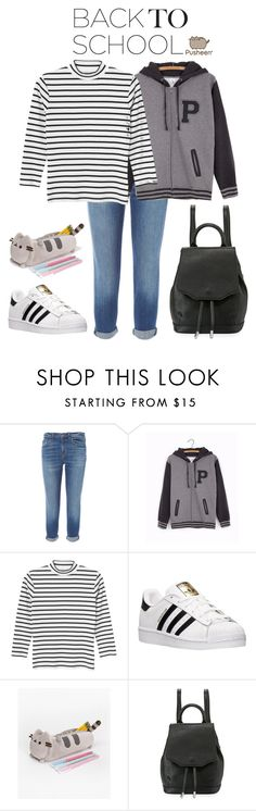 """""""#PVxPusheen"""" by vale14m ❤ liked on Polyvore featuring J Brand, Pusheen, Monki, adidas, rag & bone, contestentry and PVxPusheen"""