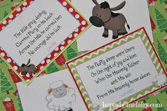 FREE Printable 12 Days of Christmas Poem and Nativity cards Christmas Poems, Preschool Christmas, Diy Christmas Cards, Christmas Nativity, Christmas Activities, Christmas Holidays, Christmas Crafts, Christmas Service, Merry Christmas