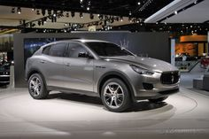 Keep your BMWs and Porche Cayennes... I want this 2014 Maserati Kubang