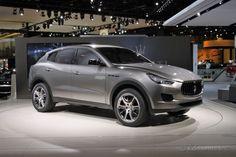 Keep your BMWs and Porche Cayennes... I want this 2014 Maserati Kubang