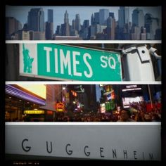 New York, New York! The place to be on New Years Eve! The blonde in the pic.