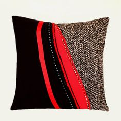 1997c3e4994e8 29 Best Red and Black Throw Pillows images in 2014 | Black throw ...