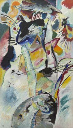 Vasily Kandinsky. Panel for Edwin R. Campbell No. 3. 1914