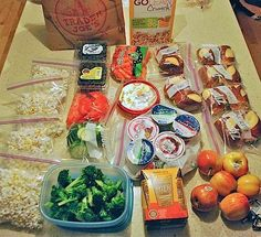 Food for Road Trips with Kids