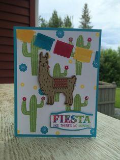 Stampin Up Birthday Fiesta #stampinup #birthdayfiesta