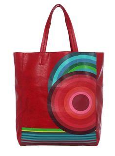 DESIGUAL Bag SHOPPING HUGE TROQUEL BIS - 37,80€ : Fashion Monicapecado