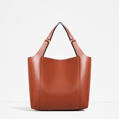 ZARA - WOMAN - METALLIC DETAIL SHOULDER BAG