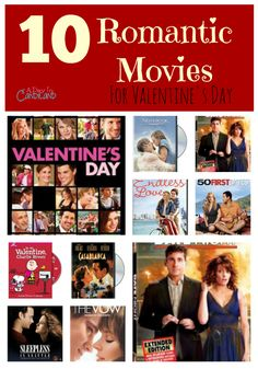A Day In Candiland | 10 Romantic Movies For Valentines Day  or anytime you want a great laugh of cry. Oldies but Goodies| http://adayincandiland.com