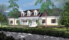 Ranch House Plan chp-30049 at COOLhouseplans.com