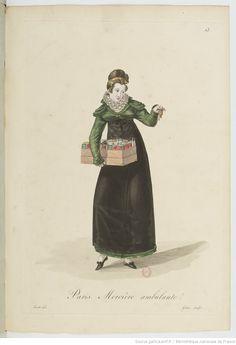 Costumes d'ouvrières parisiennes / par Gatine | Gallica