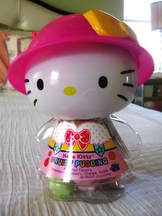 Hello Kitty Fruity Pudding and Container