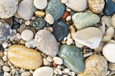 Point+Betsie+Stones++Canvas+Wrap++Michigan+Photography+by+bwana,+$50.00