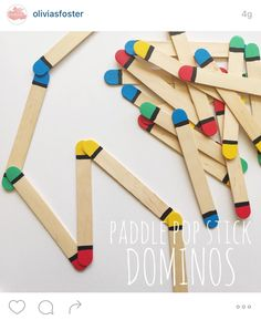 Pop stick dominos Mais