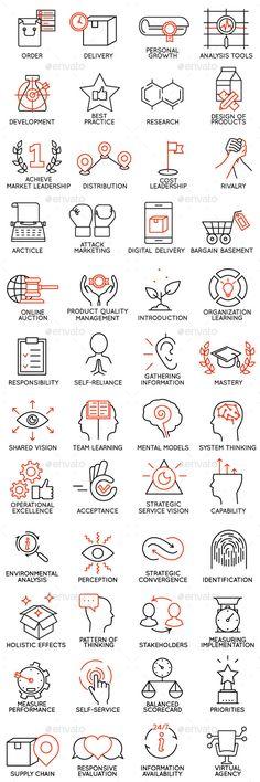 Icons Set of Business Management #design Download: http://graphicriver.net/item/icons-set-of-business-management-part-2/13268884?ref=ksioks
