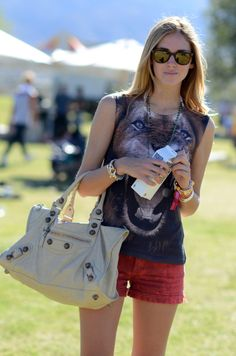 Chiara Ferragni the blonde salad Coachella