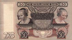 Netherlands 50 Gulden 1941