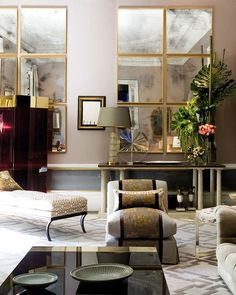Image detail for - gorgeous-living-room-elegant-decorating-stylish-decor-mirror-wall ...