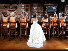 This is how my bridal party will act.