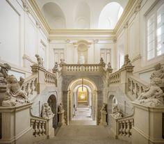 Palacio Real de Riofrío. Escalera de Honor