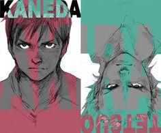 From the Akira illustration and animation archive by Taka Manga Art, Manga Anime, Anime Art, Kill La Kill, Cowboy Bebop, One Punch Man, Tetsuo Shima, Akira Tetsuo, Akira Kaneda