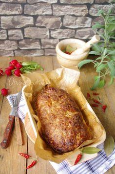 Obiad gotowy!: Klops czyli pieczeń rzymska Turkey, Meat, Chicken, Food, Meal, Eten, Meals, Buffalo Chicken, Cubs