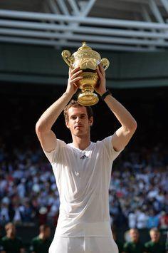 Your Men's Wimbledon Champion....Andy Murray!