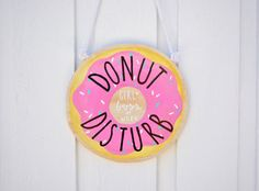 DONUT DISTURB Girl Boss at Work  Hanging by THEBRANCHANDTHEVINE