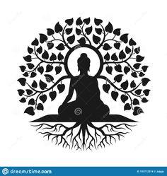 Mandala Art Lesson, Mandala Artwork, Mandala Drawing, Mandala Sketch, Buddha Canvas, Buddha Art, Buddha Wall Painting, Image Zen, Buddha Tattoo Design