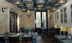 Imágenes de mobiliario y decoración para restaurantes y cafeterías