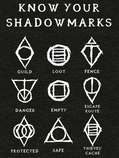 The Elder Scrolls V: Skyrim Elder Scrolls Memes, Elder Scrolls Lore, Elder Scrolls V Skyrim, Skyrim Tattoo, Rune Tattoo, Skyrim Thieves Guild, Skyrim Crafts, Skyrim Symbol, Skyrim Tips And Tricks
