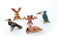Ame Design - amenidades do Design . blog: Explorações gráficas criativas com origami